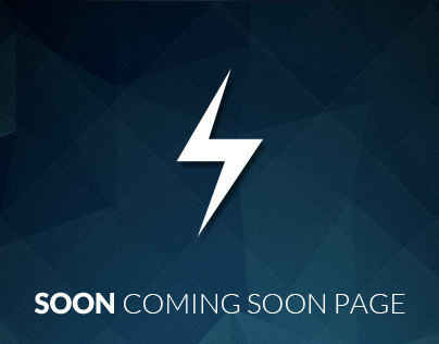 Soon - Coming Soon Page