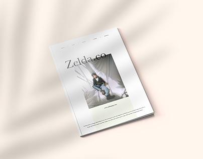 Zelda - Magazine Template Indesign