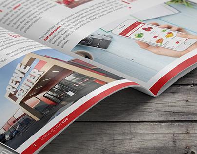 REWE - Editorial Design Fokus Region