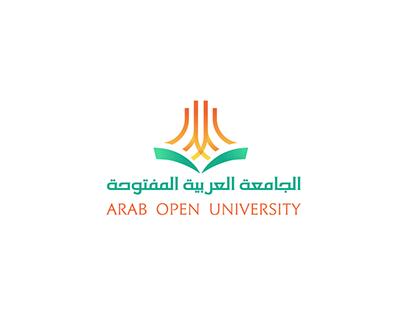 الجامعة العربية المفتوحة l Logo KSA
