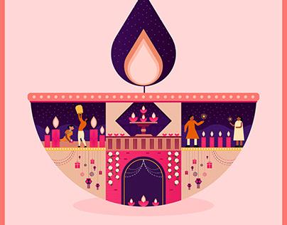 Happy Diwali (Pinterest India)
