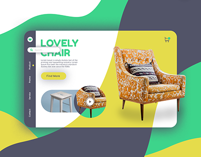 Chair Store UI Design