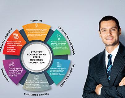 Startup ecosystem - Infographic