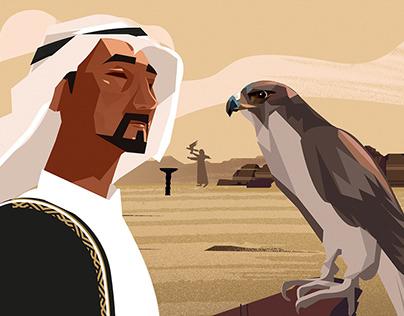 The falcon festival