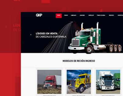 Truck website