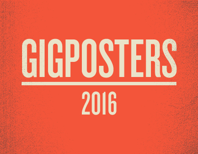 GIGPOSTERS 2016