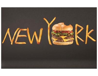 New York Travel Magazine Spread