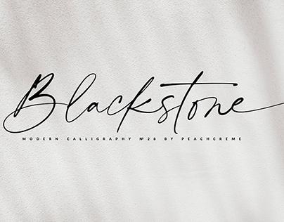 Blackstone// Casual Chic Font