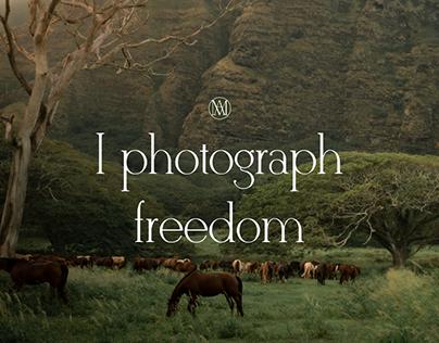 PHOTOGRAPH'S SITE Web design/ Сайт фотографа