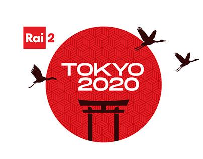 RAI2 TOKYO 2020 TAKEOVER