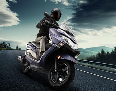 Suzuki Burgman and Access Campaign