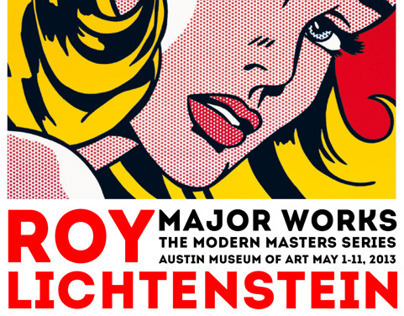 Roy Lichtenstein Museum Poster on Behance