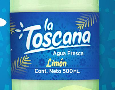 LA TOSCANA - AGUA FRESCA
