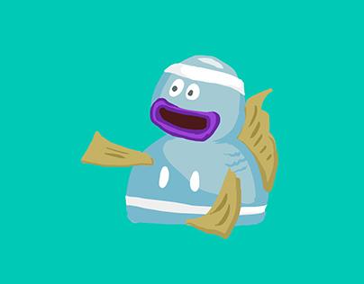 Salted fish comic