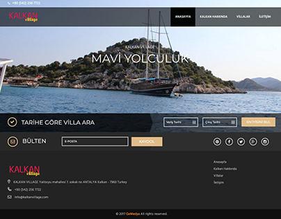 Kalkan Village website