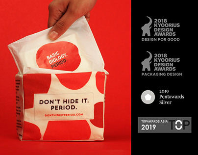 Don't Hide It. Period | Packaging Design