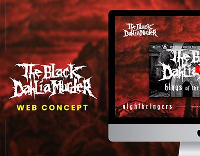 Web Concept | The Black Dahlia Murder