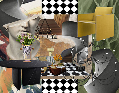 INTERIOR DESIGN COLLAGE PROJECT