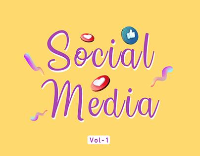 Social Media - Collection Vol-1