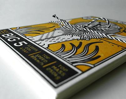 Big 5 Postcards