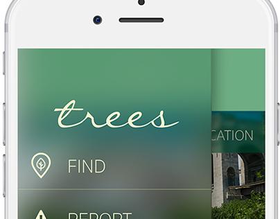 Trees // Mobile App