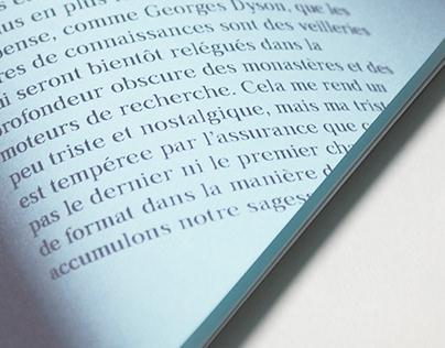 éphémère - Book