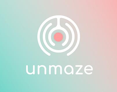 unmaze - AR Wayfinding App Design