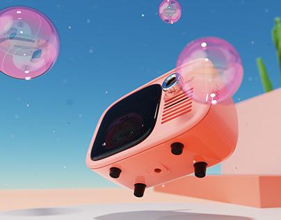 Miao TV Retro Projector
