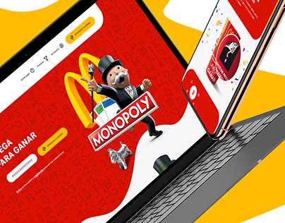 Monopoly de McDonald's - Responsive Design