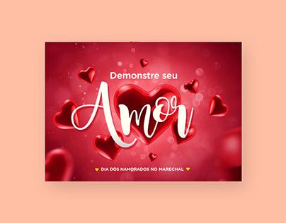 """Dia dos Namorados - """"Demonstre seu Amor"""""""