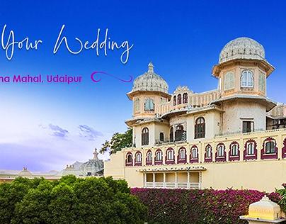 Zenana Mahal Udaipur Wedding Cost