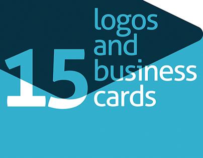 15 Logos + Business Cards