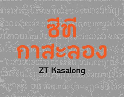 ZT Kasalong Typefamily