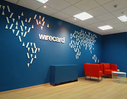Graphic patterns for Wirecard Greece