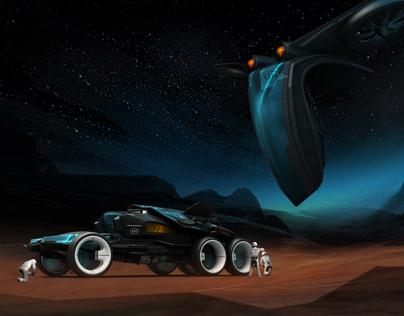 Terra Prix 2085 - World Race Vehicle Design Contest