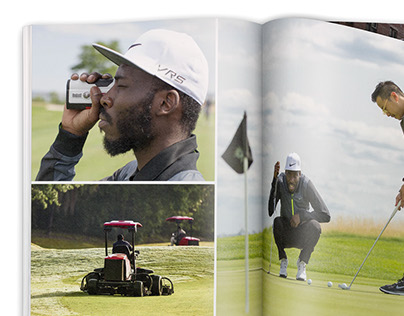 Nike Golf Coffee Table Book (Art Direction/Photoshop)