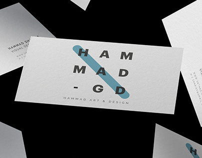 Logo, Business Card: Hammad Art & Design