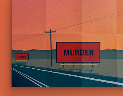 Three Billboards out of Ebbing, Missouri - Illustration
