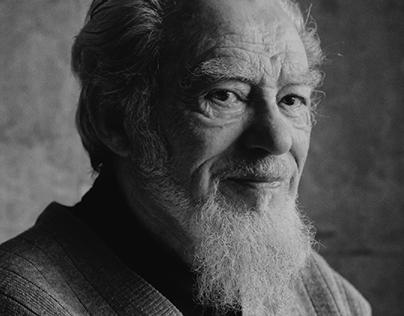Grandfather. Portraiture
