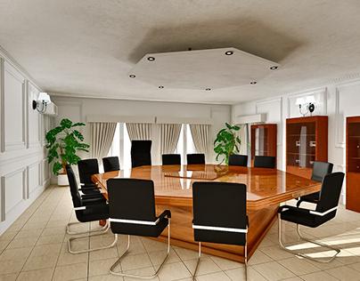 Plan 3D Salle de reunion