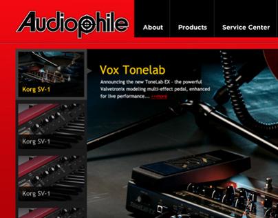 Audiophle mockup design