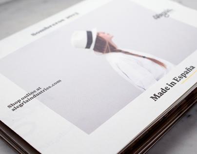 Look book Alegría Industries
