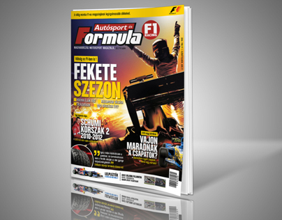 Formula Magazine Cover / Redesign