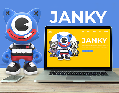 Janky Toys by Superplastic. Website