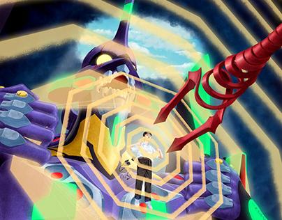 Neon Genesis Evangelion - Spoke Art