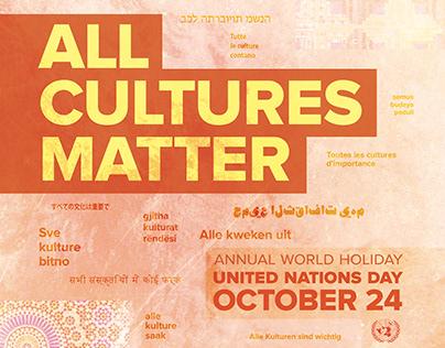 United Nations Poster Design