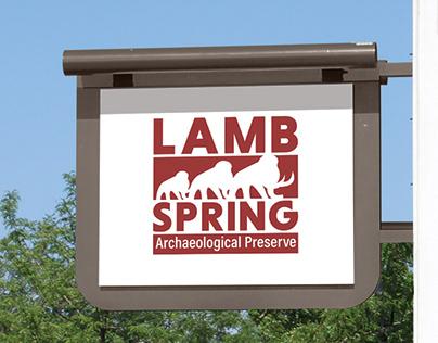 Lamb Spring Archaeological Preserve Branding