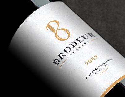 Brodeur Vineyard / Branding