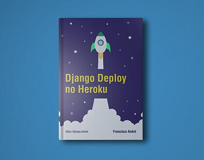 Django Deploy no Heroku - Capa de Livro