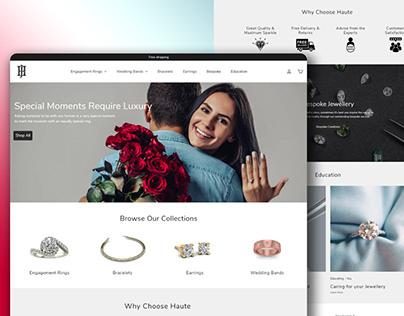 Women Jewellery-online Website in shopify